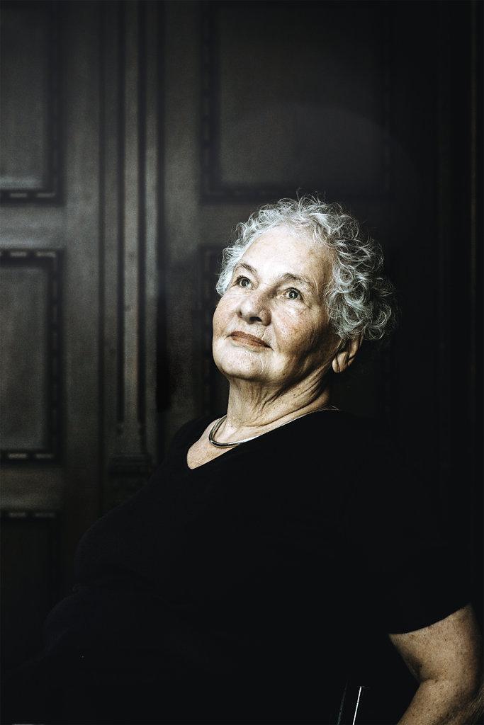 Christiane Nüsslein-Volhard und Aleida Assmann
